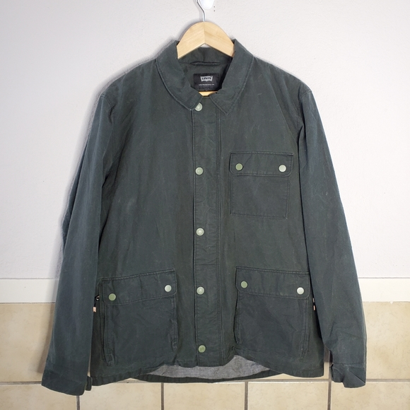 Levi's x Halley Stevensons Army Green Commuter Wor